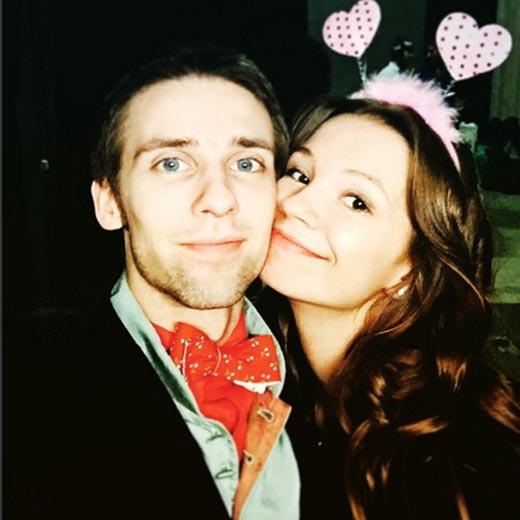 Алексей Весёлкин младший и Лина Шишова