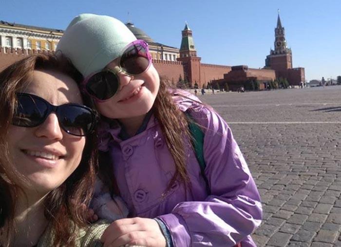 Анастасия Забирова и дочь Дарья