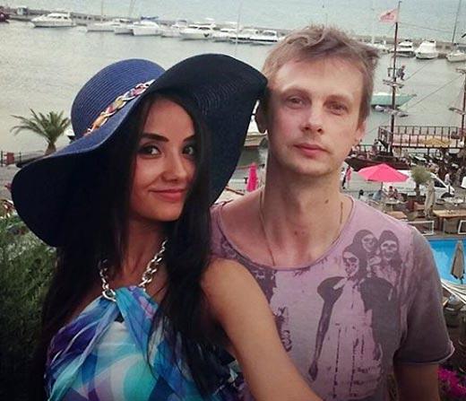 Андрей Феськов с женой
