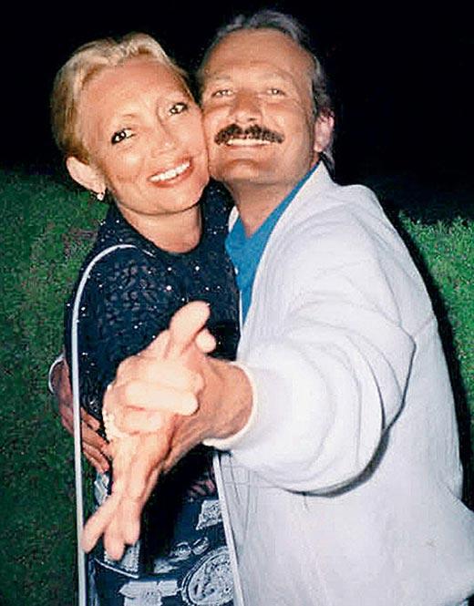 Андрей Градов и жена Наталья