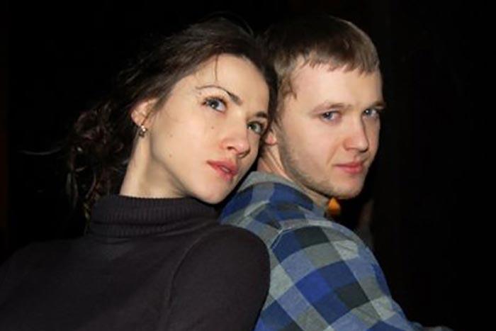 Андрей Сенькин и Вероника Пляшкевич