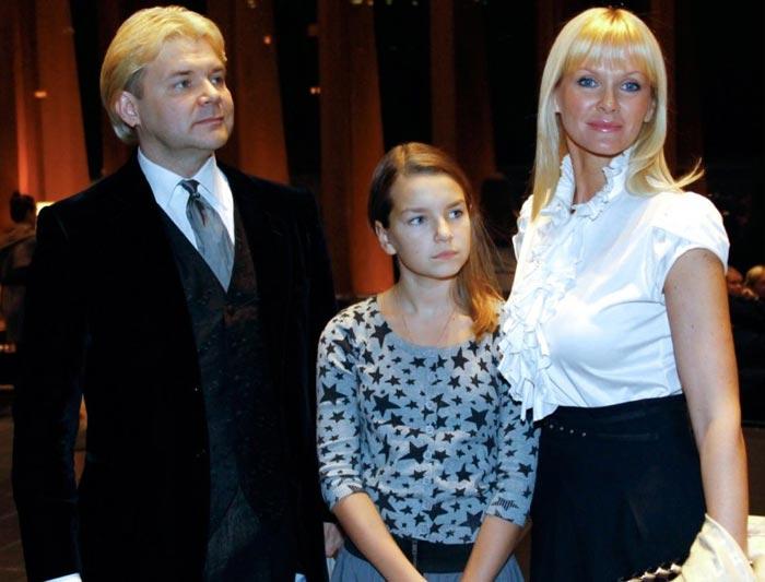 Андрис Лиепа жена Екатерина дочь Ксения
