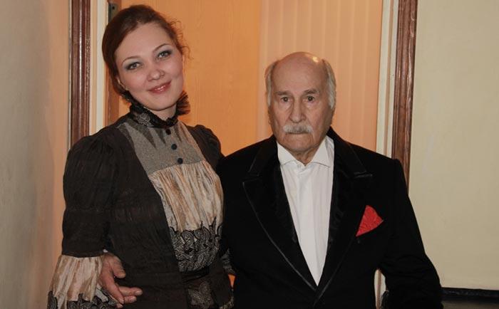 Анна Абросимова и Владимир Зельдин