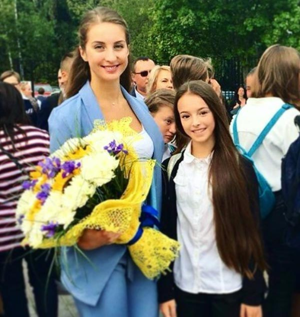 Анна Щербакова с мамой