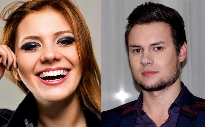 Анна Шульгина и Максим Тарасов