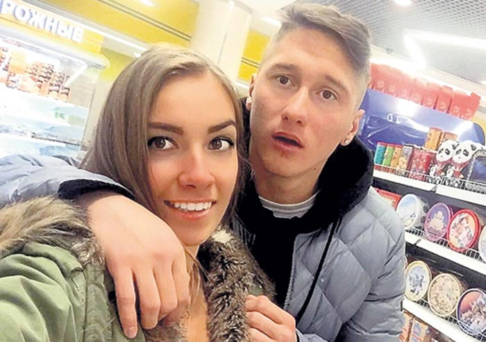 Антон Миранчук и Арина