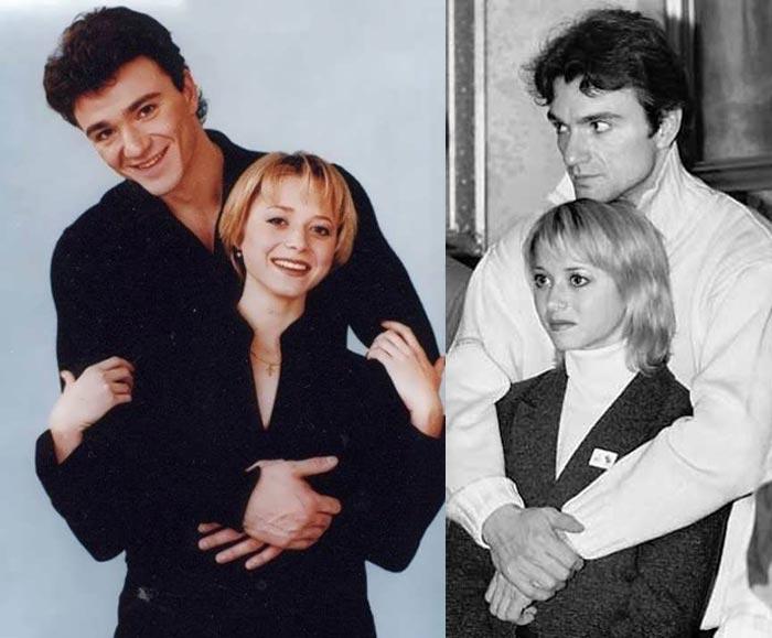 Антон Сихарулидзе и Елена Бережная