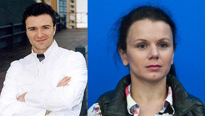 Антон Сихарулидзе и Мария Петрова