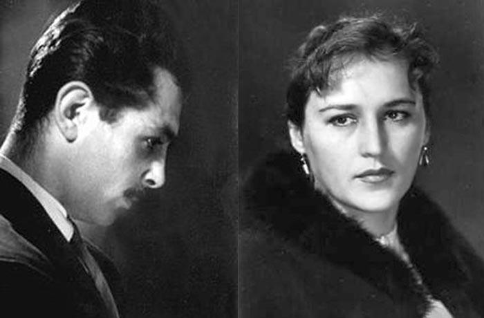 Борис Андроникашвили и Нонна Мордюкова