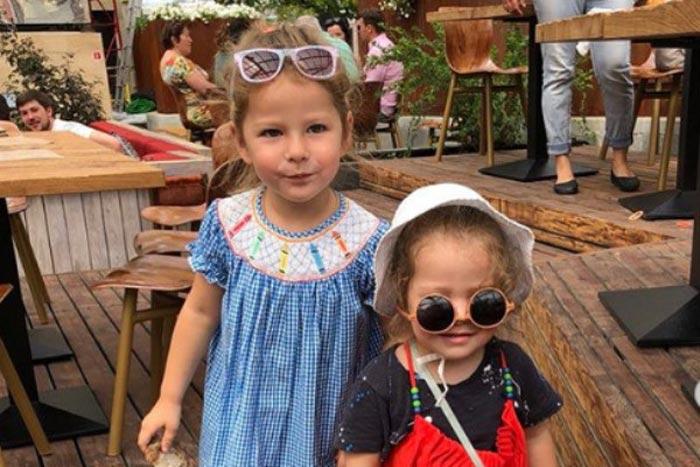 Бриана и Дарина дочери Марины Ким