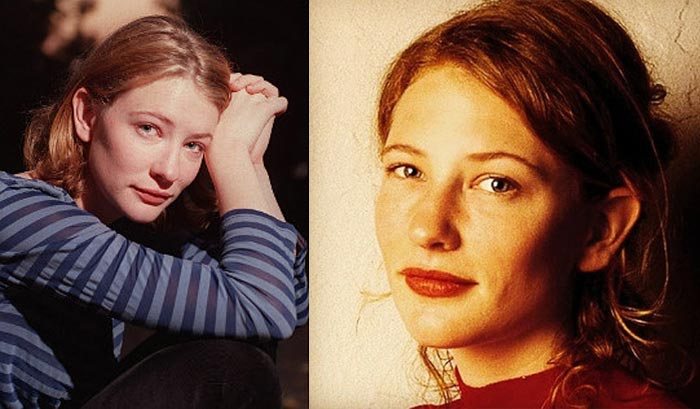 Кейт Бланшетт в юности