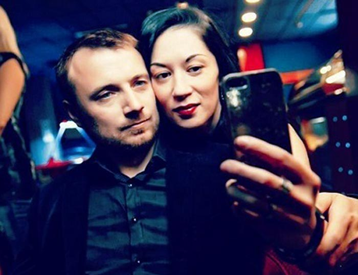 Дария Воскобоева и муж Влад
