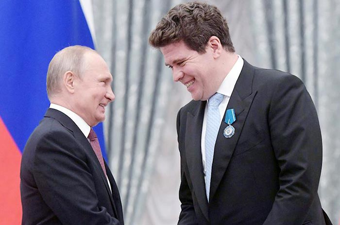 Денис Мацуев и Владимир Путин