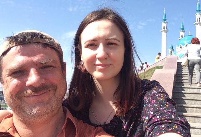 Дмитрий Файнштейн и жена Виктория