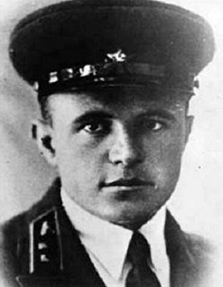 Дмитрий Лавриненко в молодости
