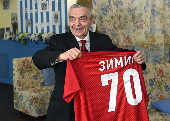 Евгений Зимин в старости