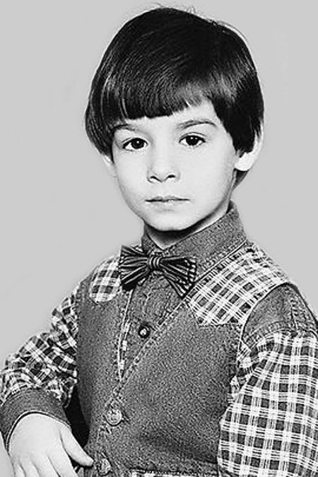 Егор Лесников в детстве