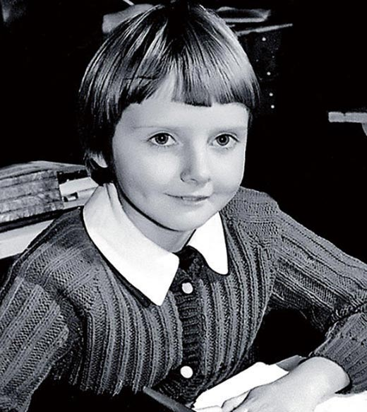 Екатерина Зинченко в детстве