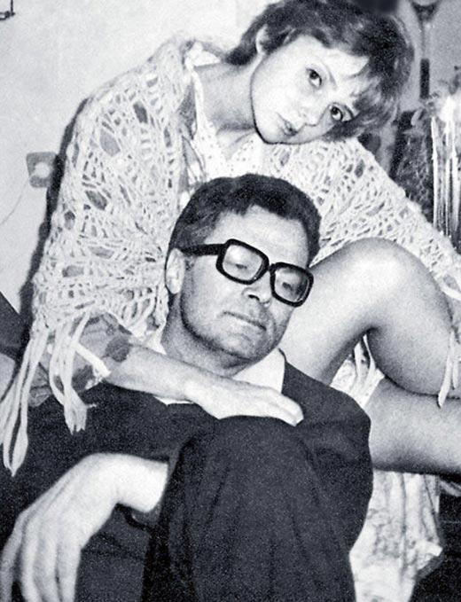 Екатерина Зинченко и бывший муж Владимир