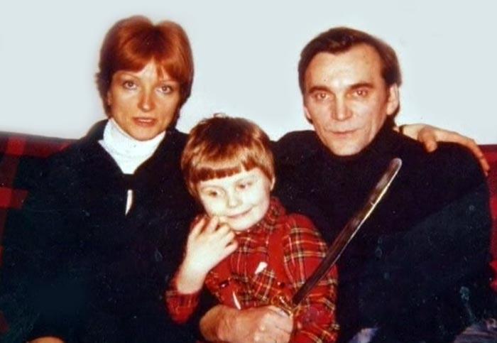 Элем Климов и Лариса Шепитько с сыном