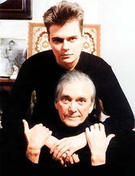 Элем Климов и сын Антон