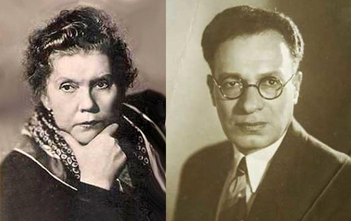 Елена Тяпкина и Михаил Лишин