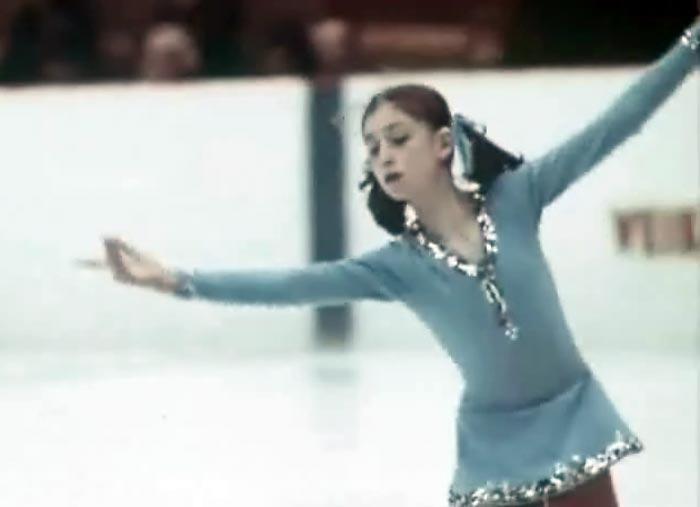 Елена Водорезова в юности