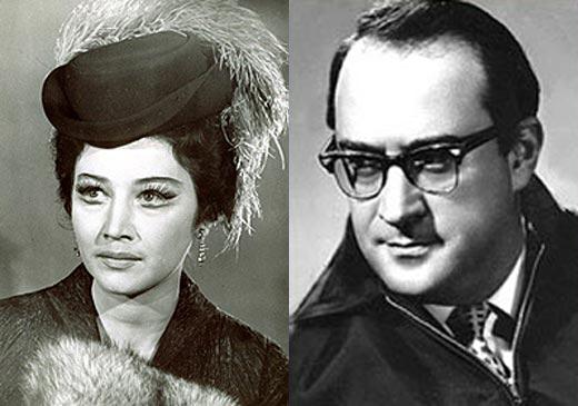 Эмма Попова и Наум Бирман