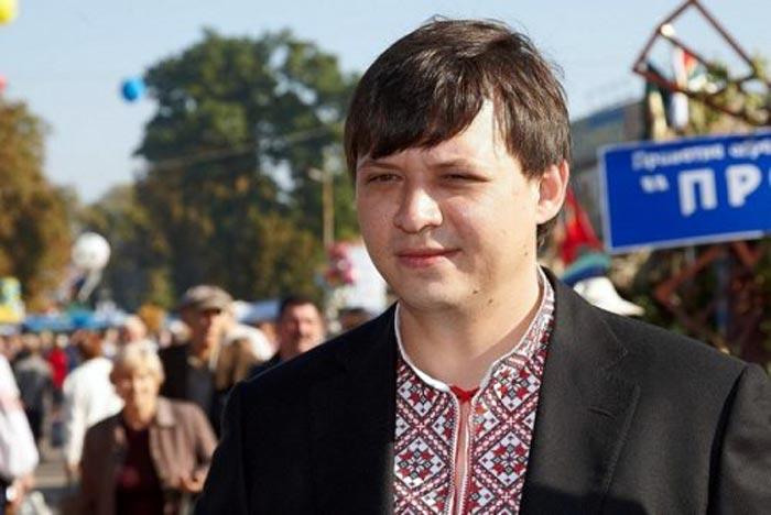 Евгений Мураев в молодости