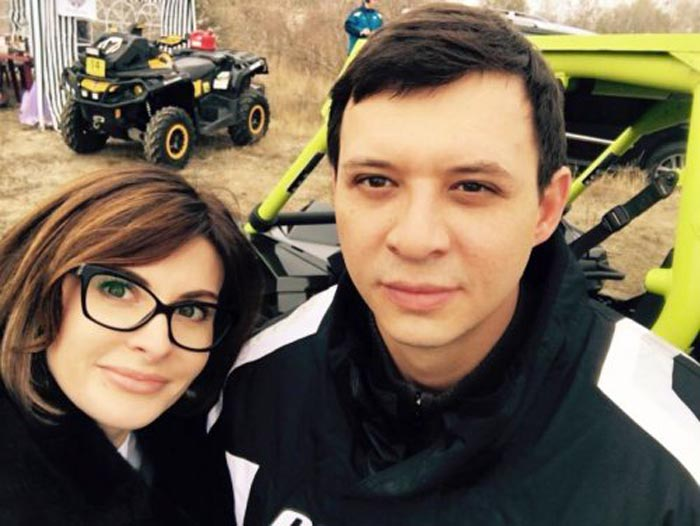 Евгений Мураев и Валерия Таранова
