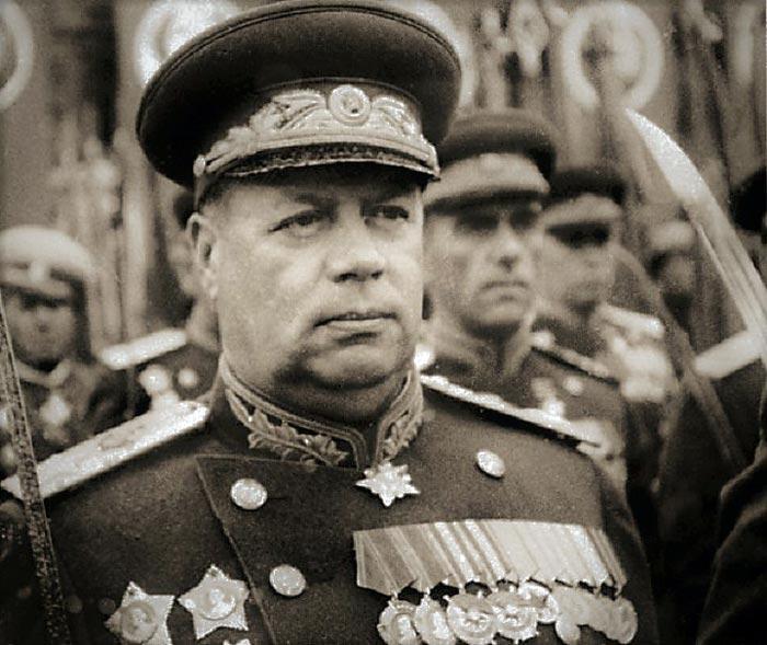 Фёдор Толбухин на Параде Победы