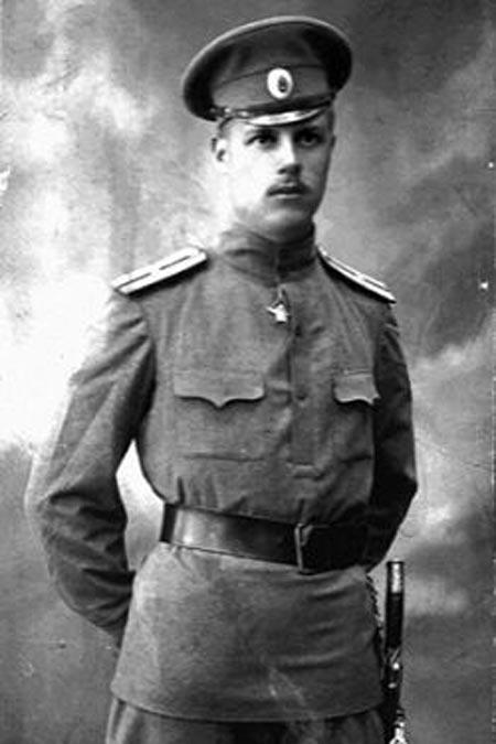 Фёдор Толбухин в молодости