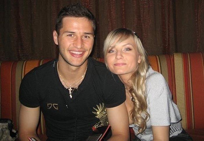 Фёдор Кудряшов и жена Анастасия