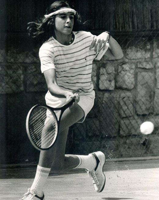 Габриэла Сабатини в детстве