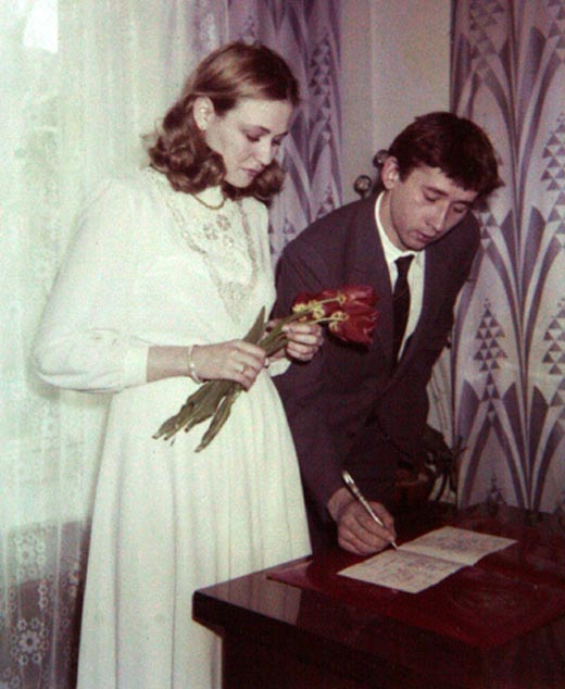 Галина Чурилова и Сергей Шкаликов