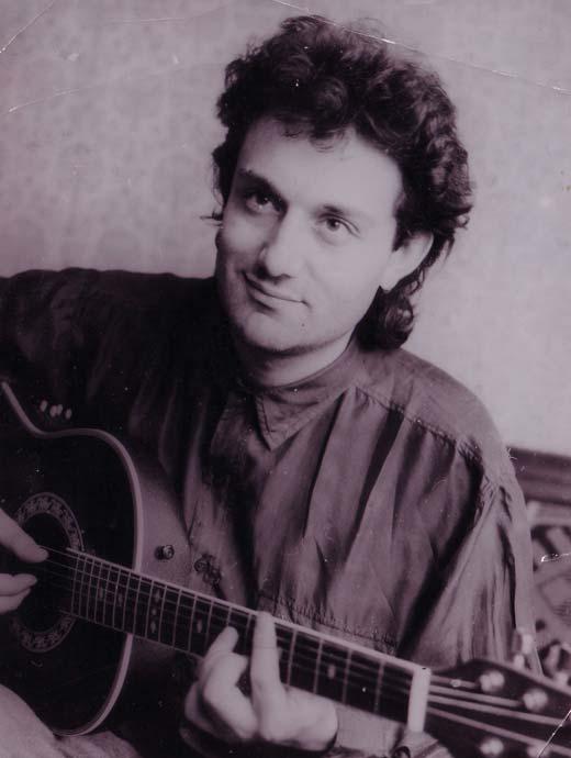 Гарик Кричевский в молодости