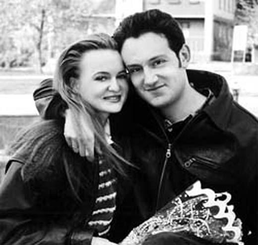 Гарик Кричевский и жена Анжела