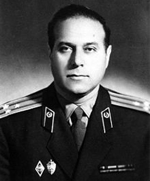Гейдар Алиев полковник КГБ