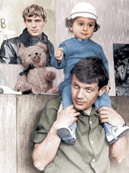 Геннадий Корольков и сын Антон