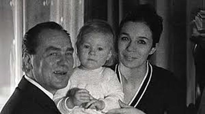 Георг Отс жена Илона дочь Марианна