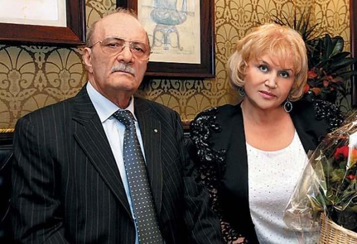 Георгий Данелия и Галина Юркова