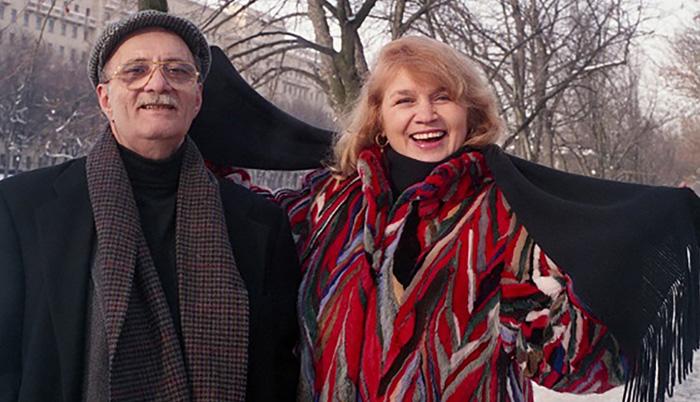 Георгий Данелия и Галина Юркова 2