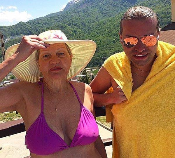 Гоген Солнцев и жена Екатерина Терешкевич 3