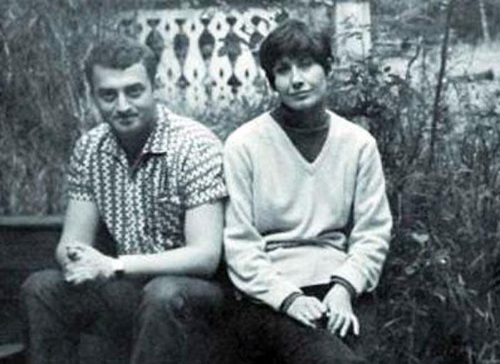 Григорий Горин и жена Любовь Горина