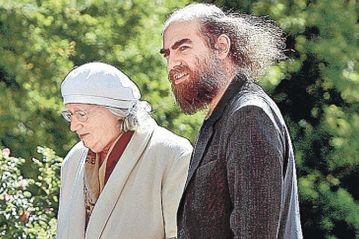 Григорий Перельман с мамой