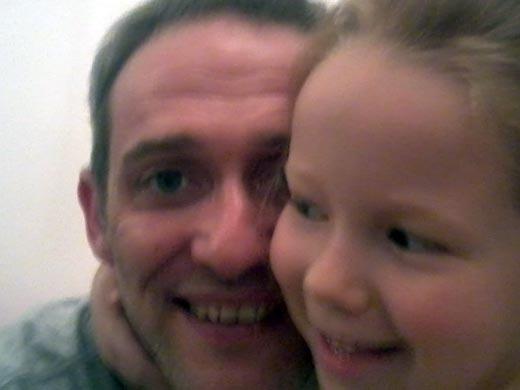 Григорий Зельцер и дочь Соня