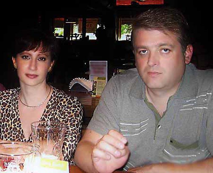 Игорь Красавин и жена Ольга