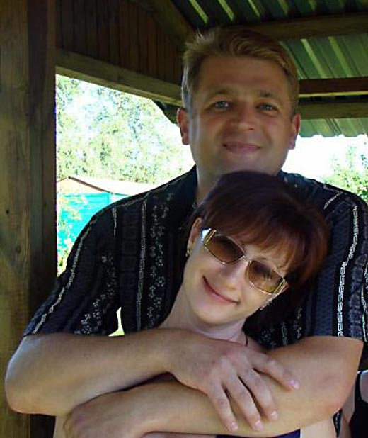 Игорь Красавин и жена Ольга 2