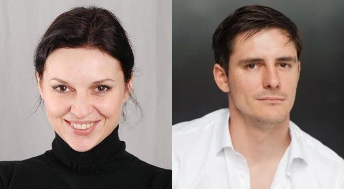 Инна Анциферова и Дмитрий Паламарчук
