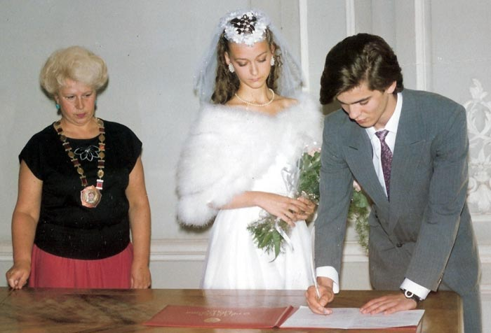 Инна Гинкевич и Андрей Плеханов